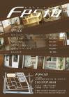 美容室 価格表チラシ デザイン 表面 A5サイズ